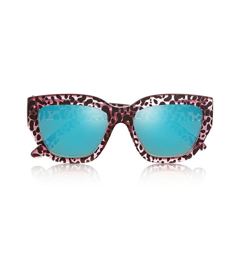 "<p>Walk on the wild side with these shades. They convey a wild innocence.</p><p>Le Specs Hermosa Cat-Eye Printed Acetate Sunglasses, $60,<a href=""http://www.net-a-porter.com/us/en/product/552971""> net-a-porter.com</a></p>"