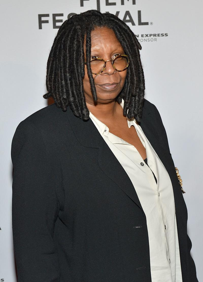 """Whoopi Goldberg has been <a href=""""http://www.starpulse.com/news/index.php/2010/02/18/whoopi_goldberg_rules_out_marriage_"""" target=""""_blank"""">married three times</a>, but told her cohosts on The View that she has cheated while being married multiple times. """"I did it five or six times… Yes, I screwed around while I was married, yeah. I made mistakes too. It happens sometimes,"""" <a href=""""http://perezhilton.com/2010-04-05-whoopi-goldberg-admits-to-cheating-while-married#.UcttxD46V9V"""" target=""""_blank"""">she said</a>."""