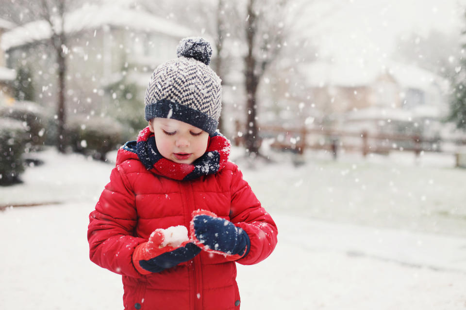 Hands off: Kids at this school can't handle snow. (Photo: Jurgita Photography)
