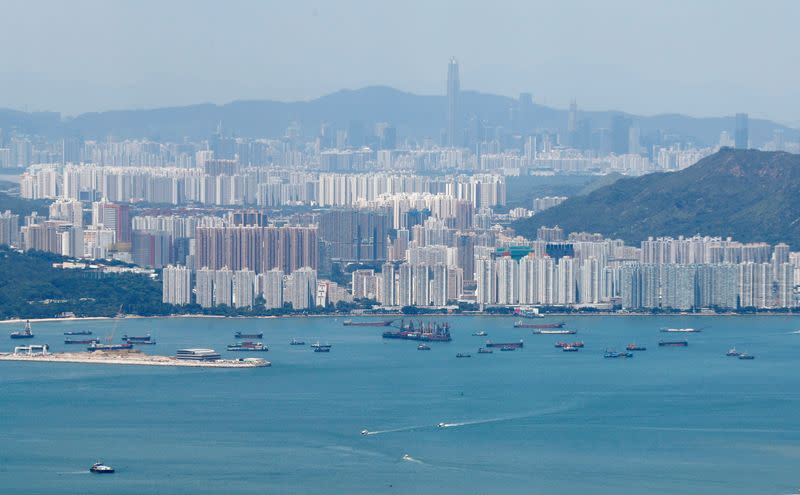 Hong Kong cuts full year economic outlook, recovery depends on virus control