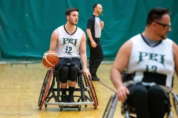 Westley Johnston, a wheelchair basketball player from P.E.I., is moving to Spain at the end of September to compete in a professional league. (Darrell Theriault - image credit)