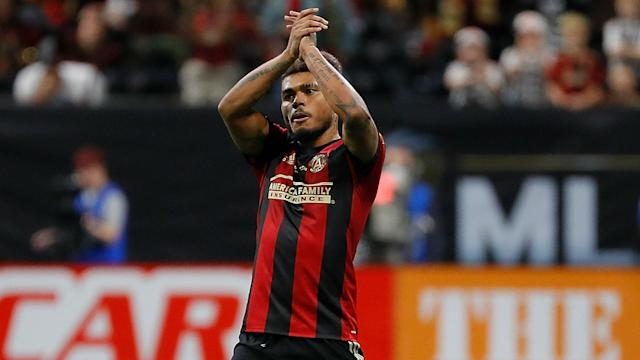 "Reigning MVP <a class=""link rapid-noclick-resp"" href=""/soccer/players/383782/"" data-ylk=""slk:Josef Martinez"">Josef Martinez</a> and Atlanta United hope to end MLS' drought in the CONCACAF Champions League. (Sporting News)"