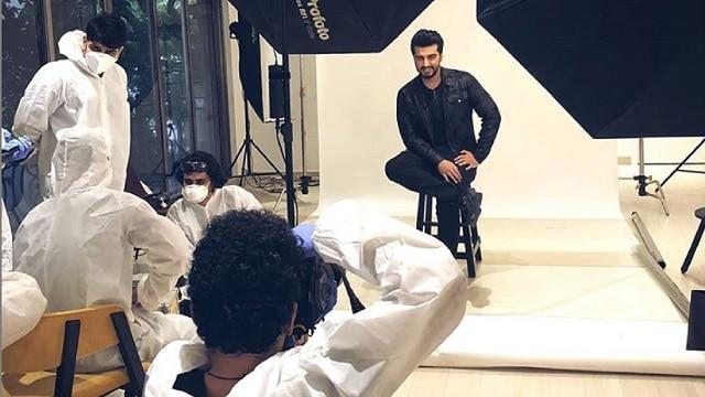 Arjun Kapoor returns to shoot after four months, says 'everyone needs to reset their lives as per the new normal'