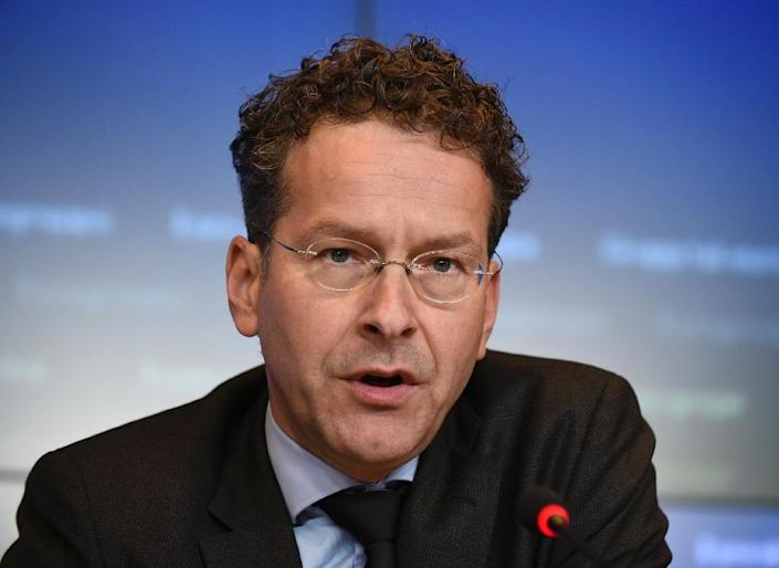 On November 2, 2015, Eurogroup President Jeroen Dijsselbloem, pictured here in Luxembourg on October 5, 2015 warned that the ongoing migrant crisis would have a significant economic impact on Greece (AFP Photo/John Thys)
