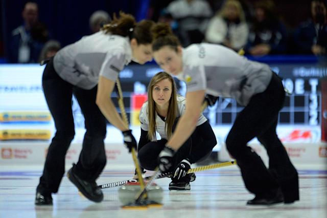 <p>The Ottawa skip finished off a dominant season that also included a world championship by winning the Canadian Olympic curling trials in her hometown. (Adrian Wyld/CP) </p>