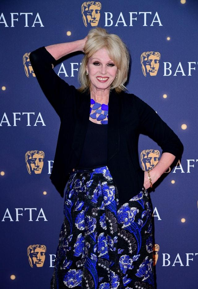 Joanna Lumley at the TV Baftas