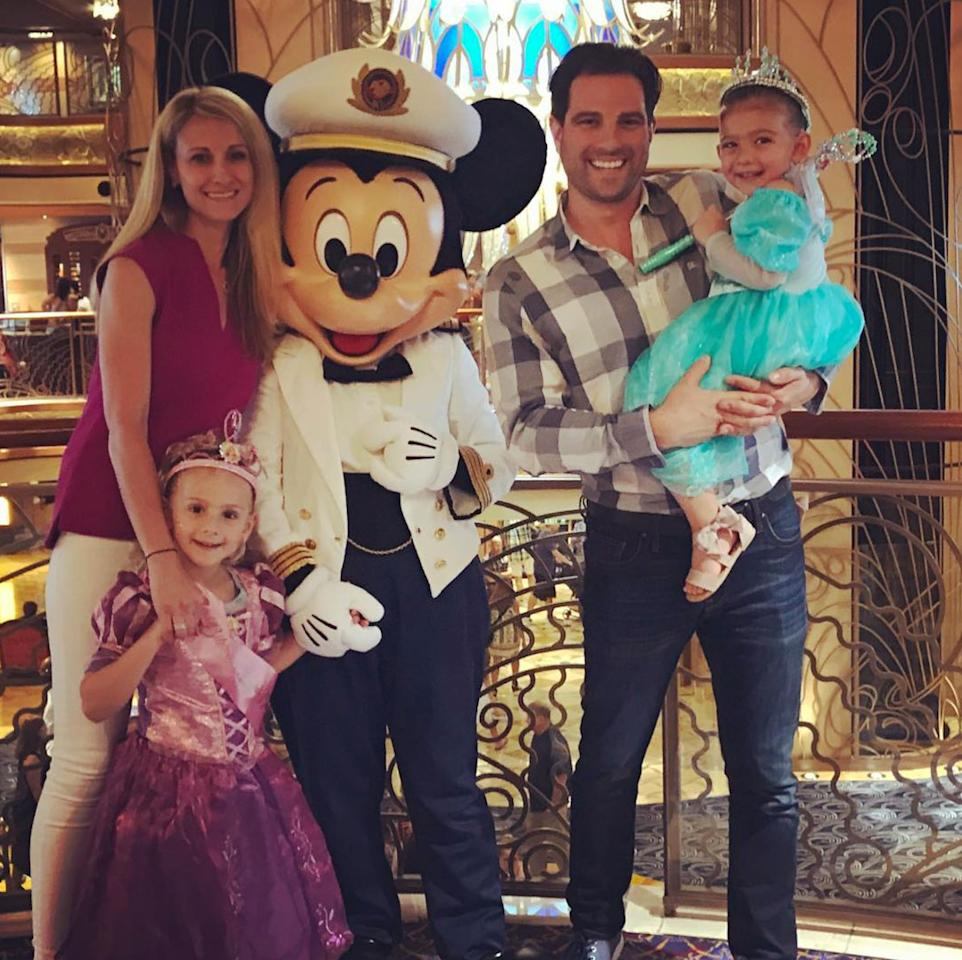 """<p>HGTV's <a rel=""""nofollow"""" href=""""http://people.com/home/hgtv-scott-mcgillivray-on-his-hair-fan-encounters-and-dream-tv-role/"""">original dreamboat</a> visits the happiest place on earth with his family, wife Sabrina and daughters, Myah and Layla.</p>"""