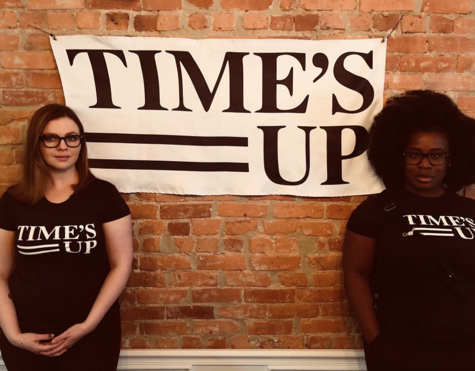 """<p>""""Who wore it better?"""" wrote Uzo Aduba from the same party. """"Standing in solidarity with my girl, @amberrosetamblyn and all women, across all industries standing up for equality, representation, and pay parity. Solidarity. Now. #timesup #whywewearblack""""(Photo: <a rel=""""nofollow noopener"""" href=""""https://www.instagram.com/p/Bdqc4epDLXC/?hl=en&taken-by=uzoaduba"""" target=""""_blank"""" data-ylk=""""slk:Uzo Aduba via Instagram"""" class=""""link rapid-noclick-resp"""">Uzo Aduba via Instagram</a>) </p>"""
