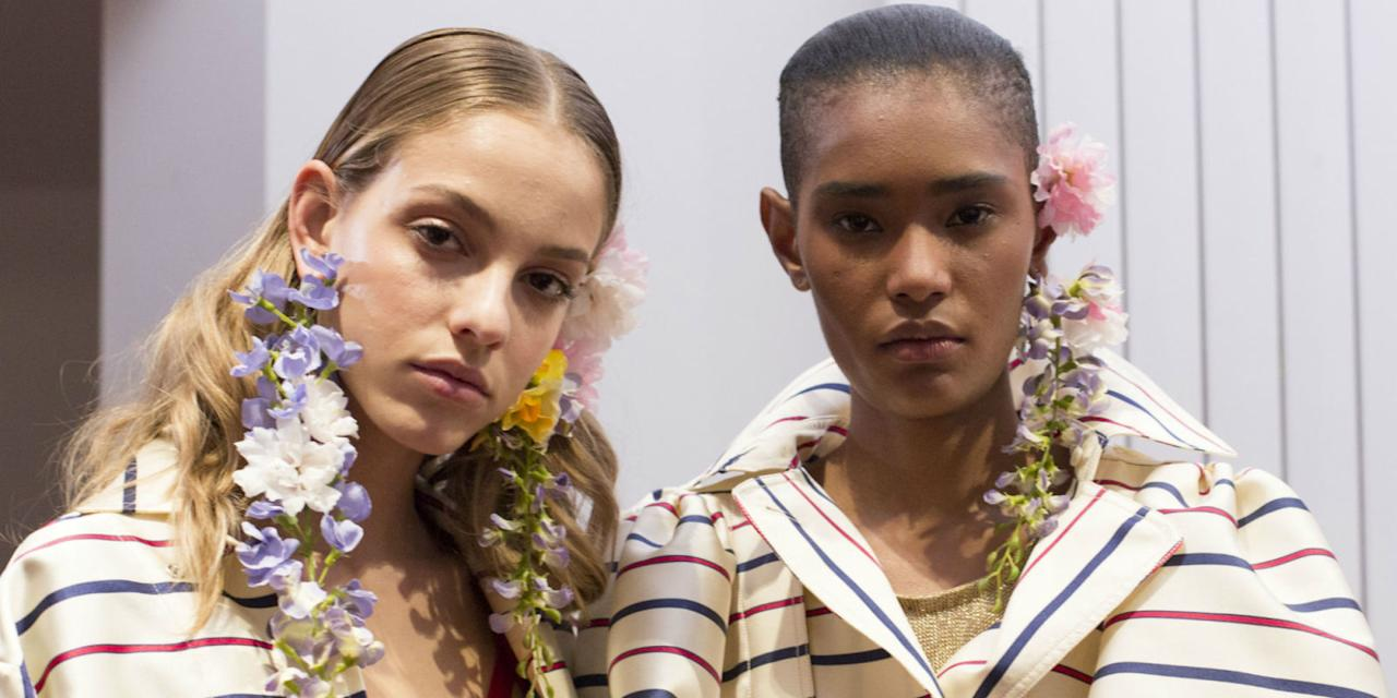 <p>From giant gobstopper gems, through to modern cuffs, through to shoulder-grazing hoops, we've charted the best earrings to walk the runway at New York Fashion Week, London, Milan and Paris. </p>