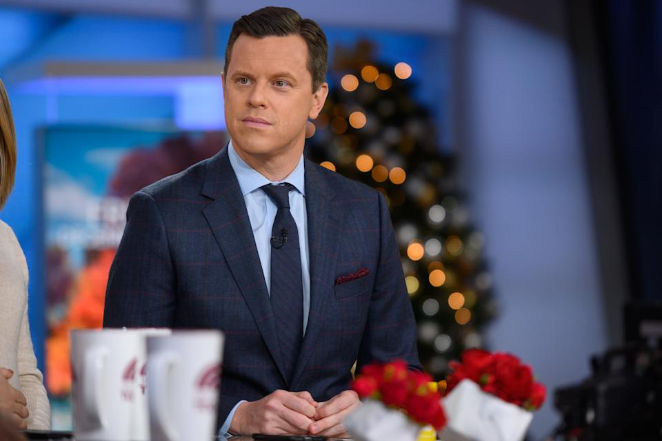 Willie Geist expressed his frustration with the delayed relief bill. (Photo: Nathan Congleton/NBC/NBCU Photo Bank via Getty Images)