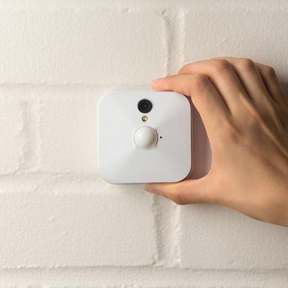 <p>If you've been thinking about beefing up your home securuity, invest in this <span>Blink Indoor Home Security Camera System with Motion Detection</span> ($95, originally $140).</p>