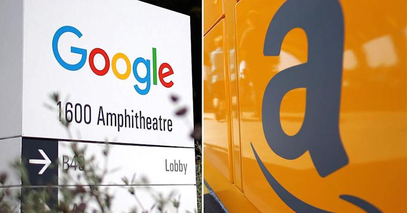 It's Google vs Amazon to create the biggest database in history
