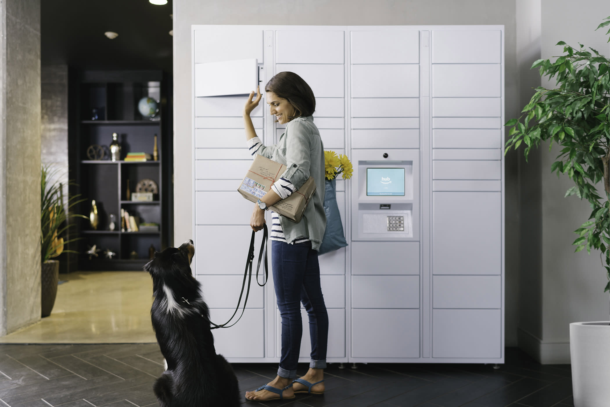Amazon Hub delivery lockers roll out across the US