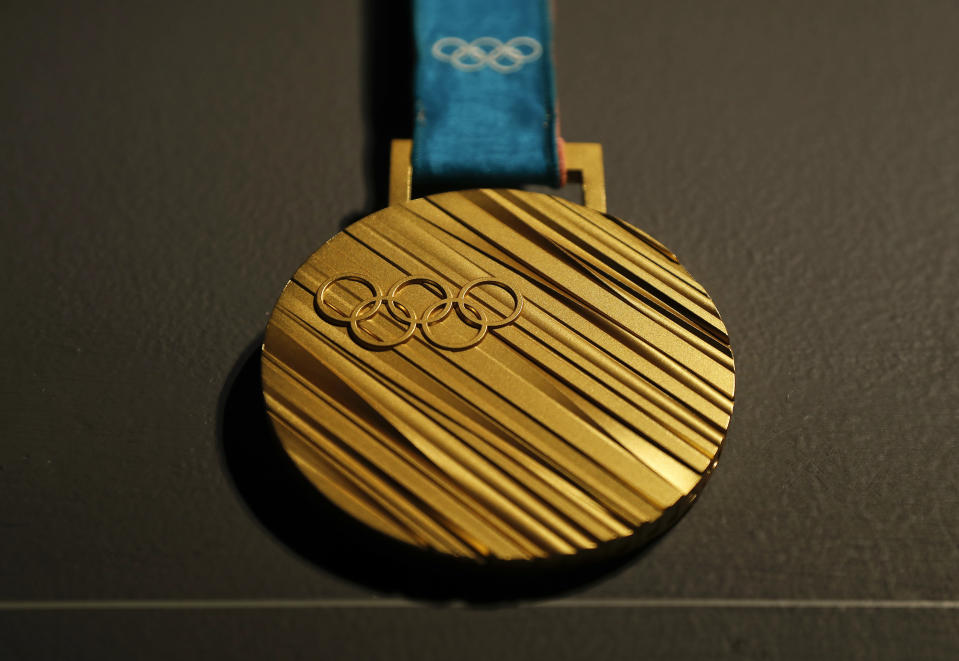 The United States has now earned 100 medals of this color in the Winter Olympics. (AP Photo/Julie Jacobson)