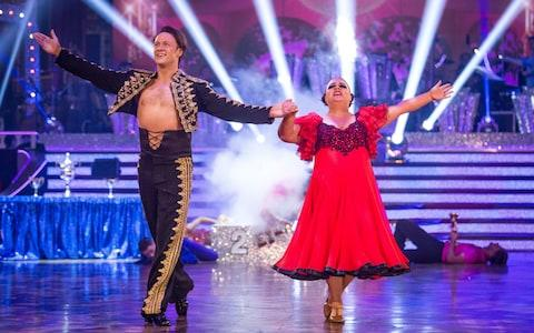 Susan Calman and dance partner Kevin Clifton