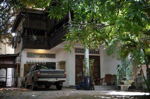 A view of the home of French architect Patrick Devillers in Phnom Penh