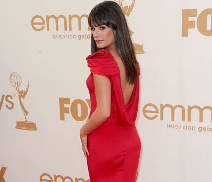 "Photo by: Frazer Harrison /Getty Images Entertainment<br />Lea Michele-<br />A diva would never turn her back on the camera, but Glee powerhouse and Emmy presenter Lea Michele made it perfectly acceptable to do so in a scarlet Marchesa gown with bold shoulders and a draped back that showed off her sexy, sculpted rear view. <br> <br> <b>Lea's Stay-Slim Must-Have:</b> Michele uses the Nike Training Club app, which lets her design unique, 15-minute exercise routines for quick, effective workouts. <br> <br> <b><a rel=""nofollow"" href=""http://www.self.com/fitness/workouts/2011/10/sculpted-lower-body-slideshow?mbid=synd_yshine"">Try SELF's 8 moves to a sculpted lower body.</a></b> <br> <br> <b>More from Self: <br> <br> • <a rel=""nofollow"" href=""%20http://www.self.com/healthystars/2011/05/gwyneth-paltrows-arm-and-ab-moves-slideshow?mbid=synd_yshine"">Gwyneth Paltrow's Arm and Ab Moves</a> <br> • <a rel=""nofollow"" href=""%20http://www.self.com/fitness/workouts/2010/06/yoga-for-abs-workout-slideshow?mbid=synd_yshine"">Yoga Moves for Flat Abs</a> <br> • <a rel=""nofollow"" href=""%20http://www.self.com/fooddiet/2010/03/20-superfoods-slideshow?mbid=synd_yshine#slide=1"">20 Superfoods for Weight Loss</a> <br> • <a rel=""nofollow"" href=""%20http://www.self.com/fooddiet/2011/06/12-ways-to-think-slim-slideshow?mbid=synd_yshine#slide=1"">12 Ways to Think Yourself Slim <br></a> <br> <br></b>"