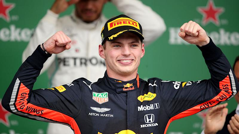 Seen here, Max Verstappen was a deserved winner of the Brazilian GP.