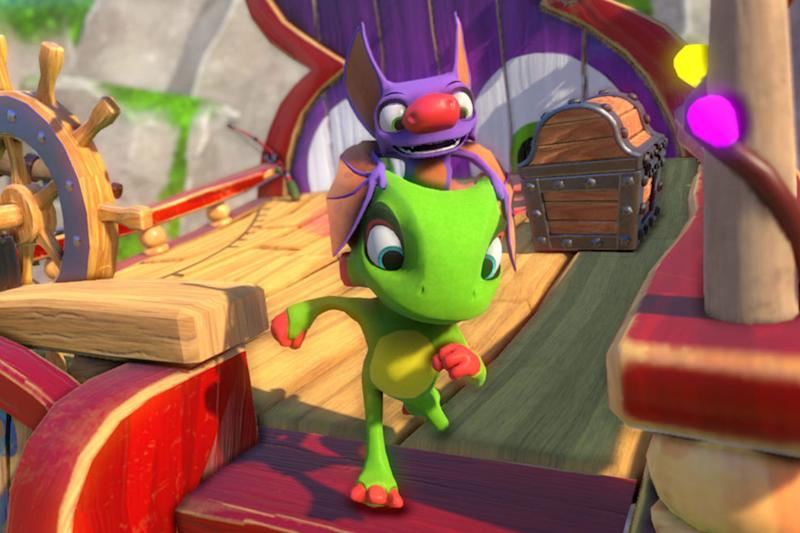 Reincarnated: the spirit of Banjo Kazooie fails to evolve in Yooka Laylee: Team 17