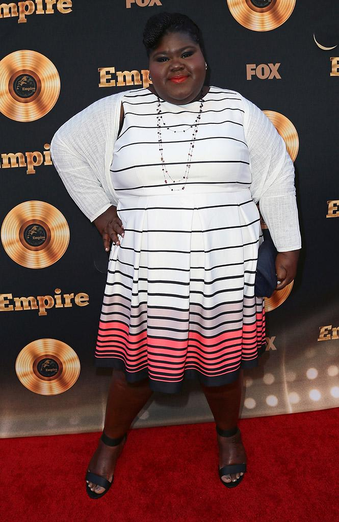 Gabourey Sidibe in May 2016, before she had weight loss surgery