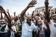 Sassou Nguesso has portrayed himself as a defender of Congo's youth -- the average age of the population of five million is just 19