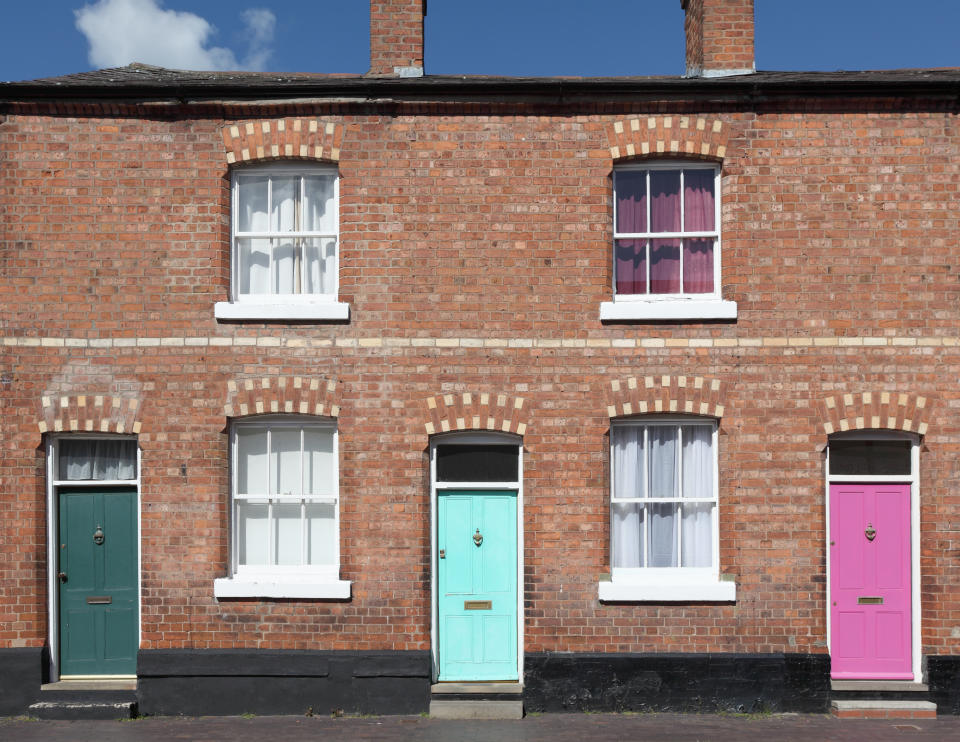 Painting your door can add value to your property. (Getty Images)