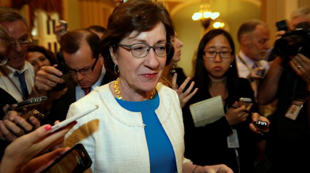 Sen. Susan Collins (R-Maine) announced Monday that she would vote against a new bill to repeal the Affordable Care Act, leaving Republicans at least one vote short of what it would take to pass it ― and dealing what looks like a lethal blow to this latest effort at Obamacare repeal.