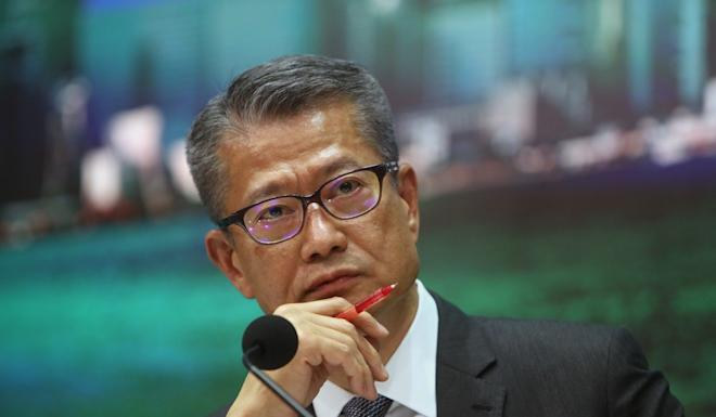 Paul Chan says the government stands ready to use it fiscal buffers to support the economy. Photo: Winson Wong