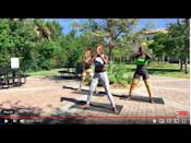 "<p>Sculpt lean muscle in this 45-minute KUKUWA® dance workout. You'll sweat, tone and work <strong>hard</strong> to some epic beats. Fun = guaranteed. </p><p><a href=""https://www.youtube.com/watch?v=lsh9wgLD-bc&ab_channel=KukuwaFitness"" rel=""nofollow noopener"" target=""_blank"" data-ylk=""slk:See the original post on Youtube"" class=""link rapid-noclick-resp"">See the original post on Youtube</a></p>"