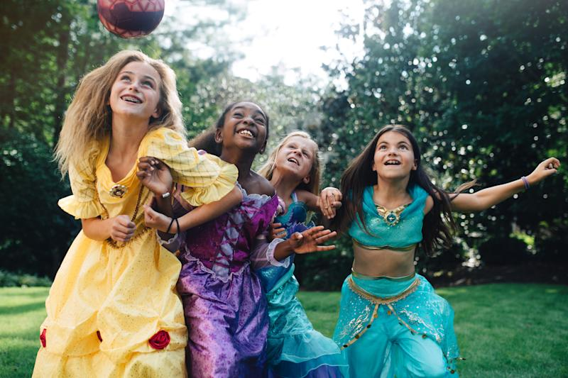Disney's new project for its #DreamBigPrincess campaign highlights girls being fun, fierce and fearless. (Kate Parker)