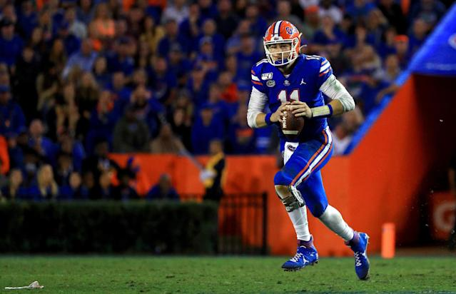 Florida didn't miss a beat when Kyle Trask was forced to start after Feleipe Franks' injury. (Photo by Mike Ehrmann/Getty Images)