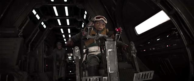 Jon Favreau will voice this alien in <em>Solo: A Star Wars Story.</em> (Photo: Lucasfilm)