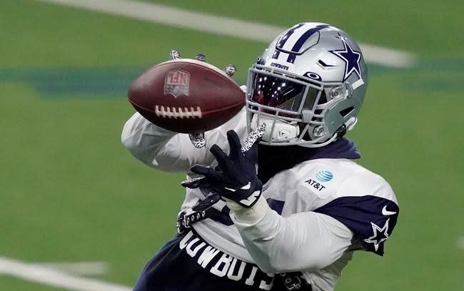 Cowboys' Elliott camping from start after COVID-19 recovery