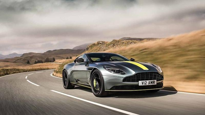 Aston Martin reveals 630bhp DB11 AMR at the Green Hell
