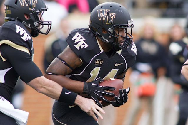 Wake Forest suspends top returning RB Dominique Gibson