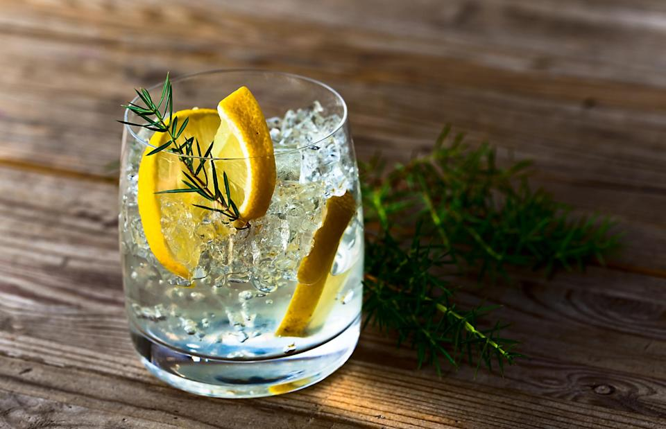 There's no denying the nation's love affair with the classic G&T [Photo: Getty]