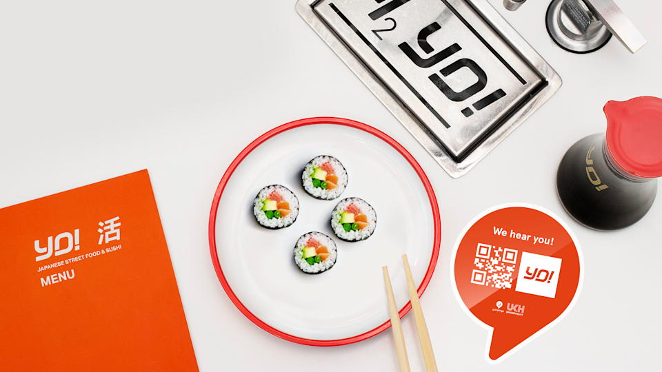 Yo Sushi! is among restaurant chains using the Yumpingo data