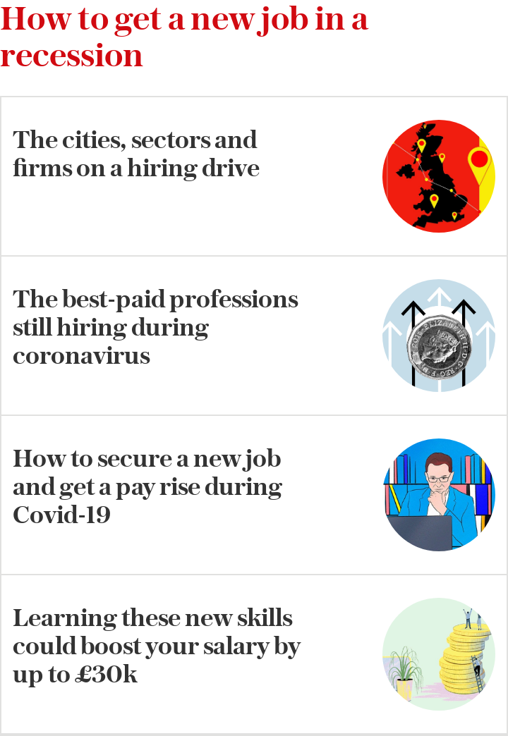 How to get a new job in a recession