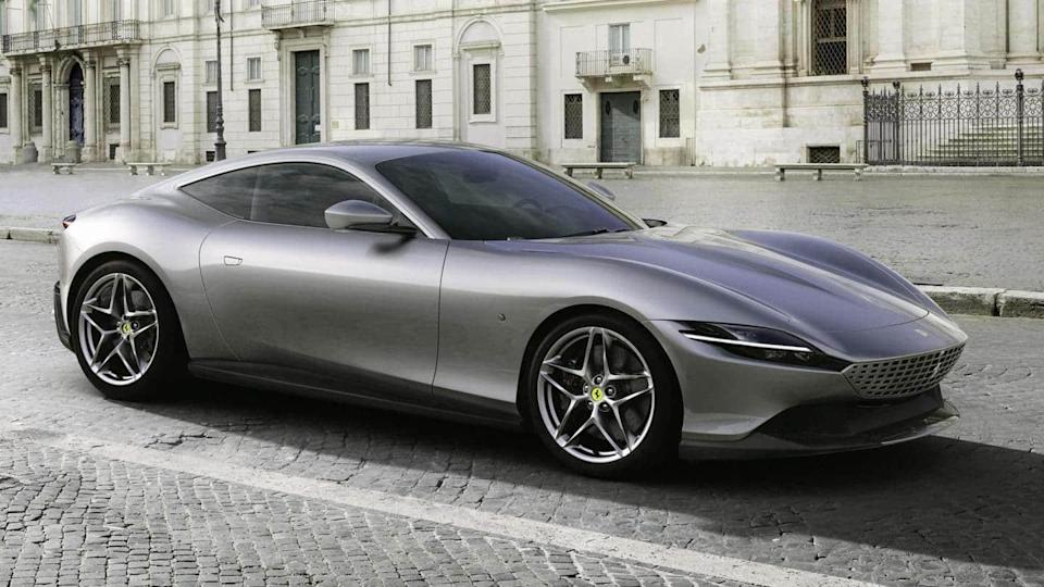 Ferrari Roma launched in India at Rs. 3.61 crore