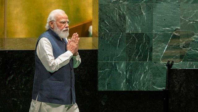 While Modi struck a high-minded tone in his speech, India and Pakistan verbally sparred during Friday night's 'right of reply' period. Following Imran Khan's speech in which he accused India of human rights abuses and fomenting terrorism, an Indian diplomat essentially flung those same accusations back. AP