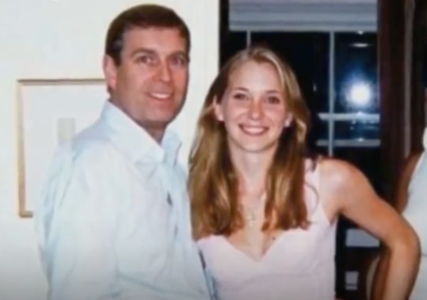 Prince Andrew and Virginia Giuffre pictured together in night the Duke claims he can't remember.