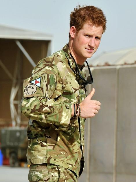 Prince Harry's top 10 omg! moments of 2012