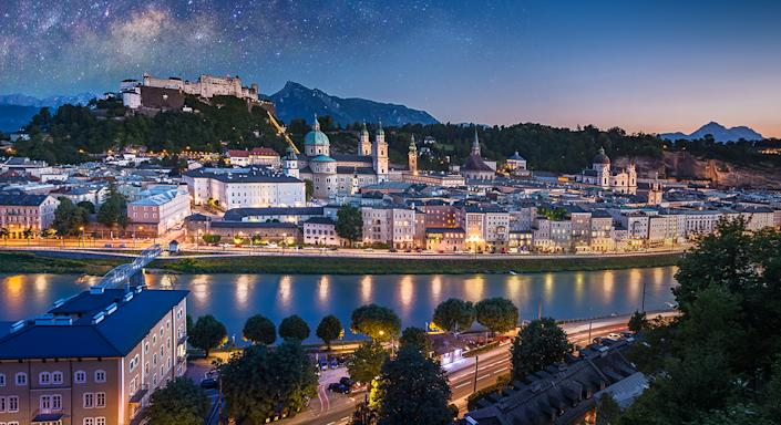 Salzburg is just one of the places to visit in 2020. [Photo: Getty]