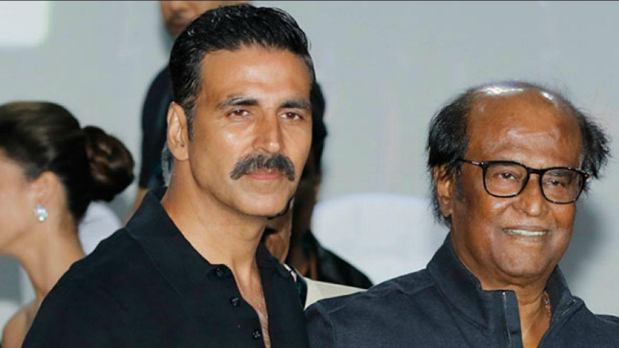 <p>Akshay Kumar is all praises for his '2.0' co-star Rajinikanth. </p>