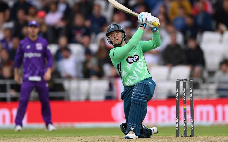 Bowlers could panic at the sight of Jason Roy going after him and might bowl a wide or two, or a no-ball - Stu Forster