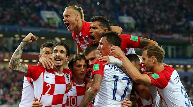 Croatia, featuring one of the more talent-laden sides in the field, with Real Madrid's Luka Modric, Barcelona's Ivan Rakitic, Juventus's Mario Mandzukic and Inter Milan's Ivan Perisic, safely defeated Nigeria 2-0 as Saturday's action wrapped up in Kaliningrad Stadium.