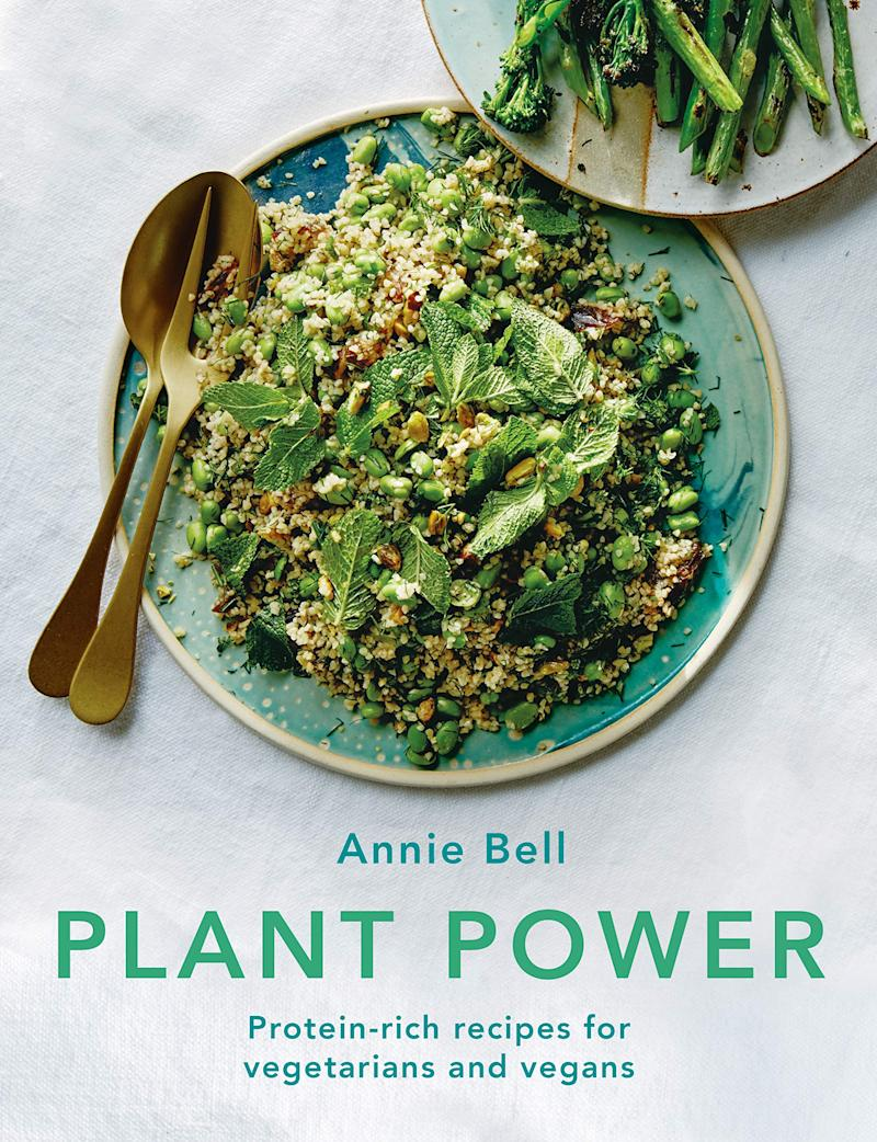 Annie Bell's gorgeous cookbook explains how to source plant proteins from high-quality unrefined wholefoods. Photo: Octopus Publishing Group