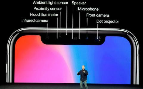 Iphone x reveal - Credit: AP