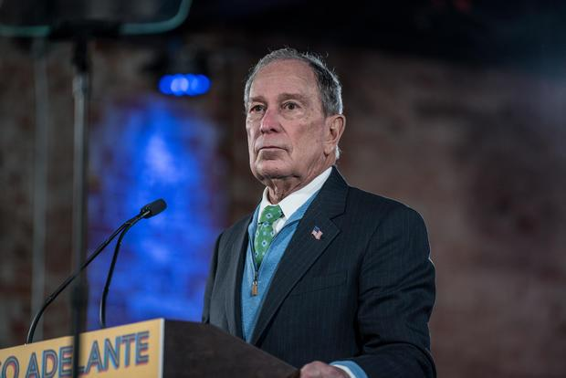 Mike Bloomberg Campaigns For President In El Paso