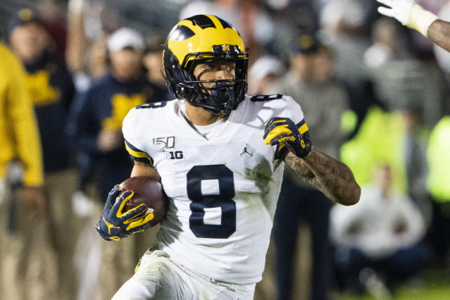 Ronnie Bell was the recipient of a nasty email from a Michigan fan. (Getty Images)